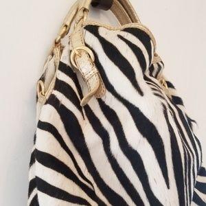 ANTONIO MELANI Bags - Antonio Melani Zebra Hide Handbag